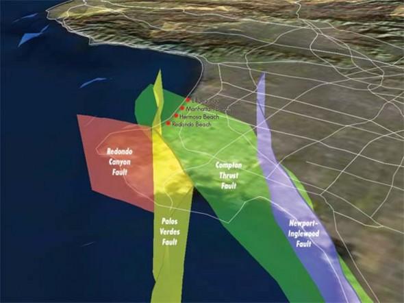 Earthquake Map Los Angeles