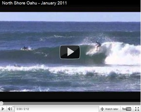 Surfing Pipe and Backdoor, and V-Land at North Shore Oahu [VIDEO]