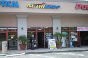 Nutrishop storefront