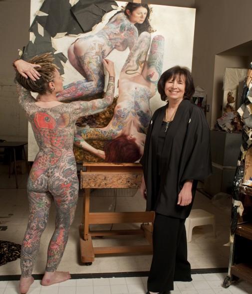 tattoo artist Janis Weissman