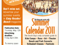summer calendar advertising promotion