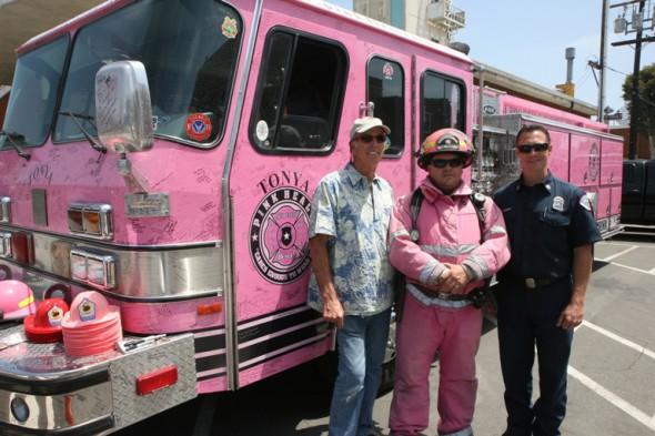 Pink Hermosa Fire Truck