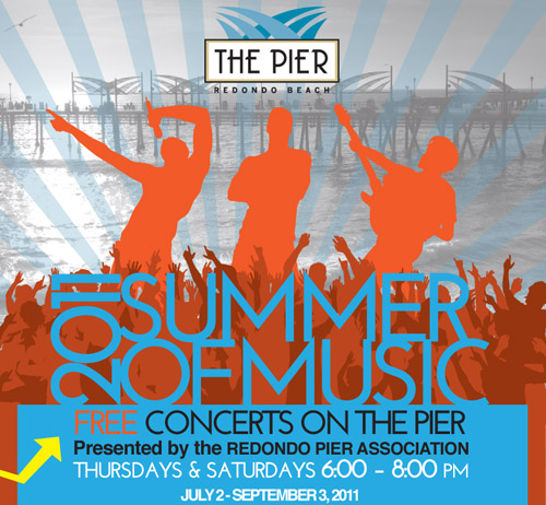 FREE concerts on Redondo Beach Pier begin Saturday, July 2 [COMPLETE SCHEDULE]