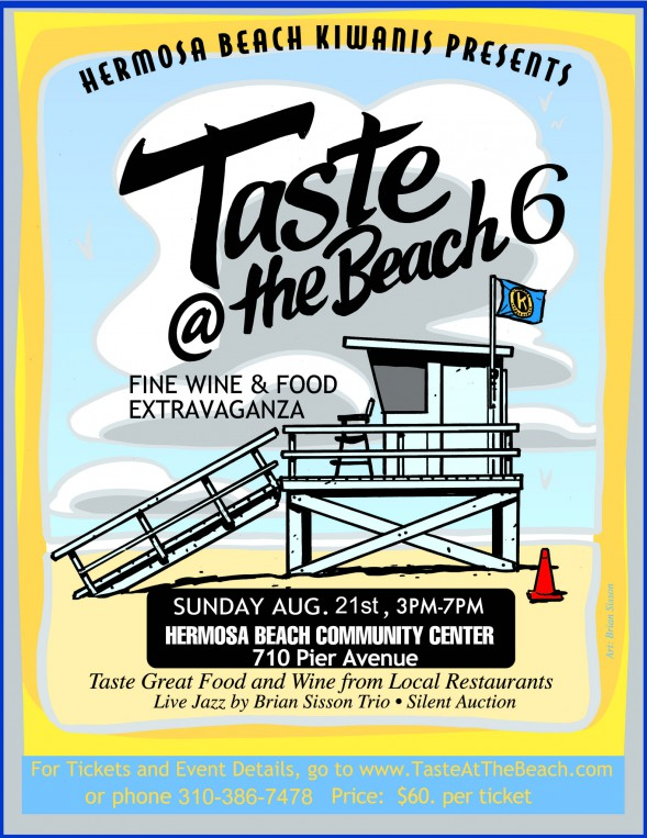 Hermosa Beach Kiwanis Club Sixth Annual Taste at the Beach