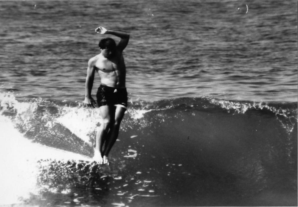 Surfer Sparky Hudson