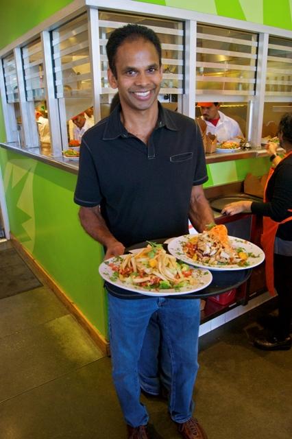 Veggie Grill co-founder, T.K. Pillan