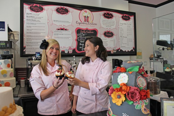 cupcake wars manhattan beach bakers victorious in tv batter battle