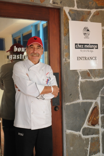 Chez Melange Chef Robert Bell