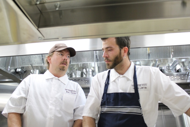 Strand House Chef Neal Fraser Chef Travis Lorton