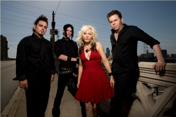 Performing its classics as well as material from a new album, Berlin will perform Saturday at Brixton. Pictured are Chris Olivas, Carlton Bost, Terri Nunn and Dave Schulz.
