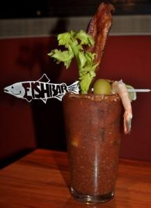 Fishbar's bloody mary
