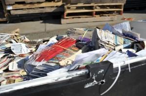 circular-filled dumpster post office redondo