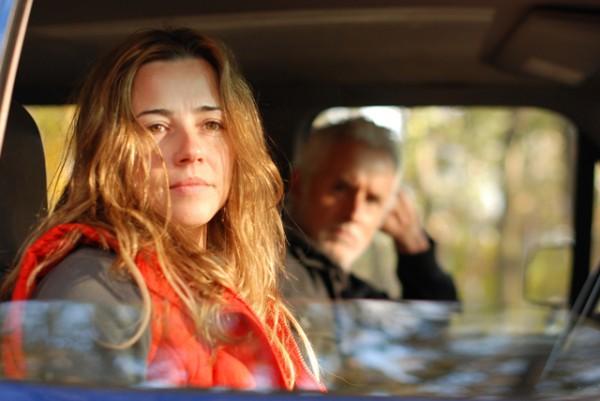 "Linda Cardellini and John Slattery struggle with Cardellini's return from war in ""Return."""
