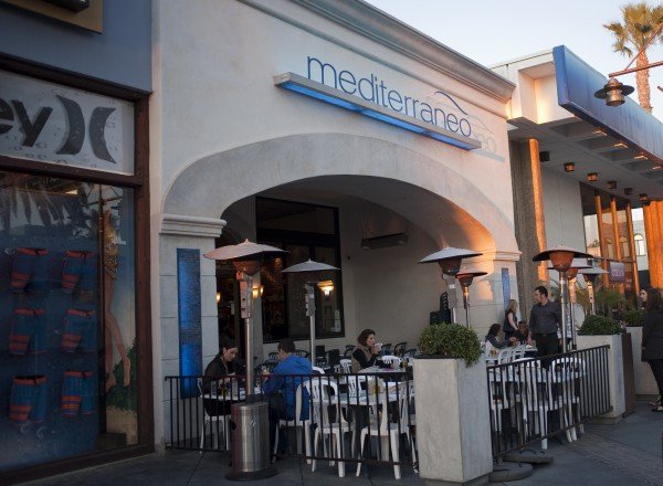 mediterraneo hermosa beach restaurant