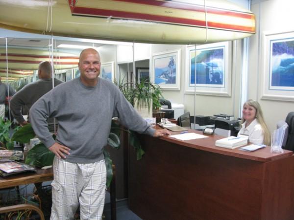 Chiropractor Derek Levy unkinks the kinky. Photo