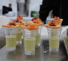 Food from 20 Manhattan Beach restaurants was featured at Sunday's Taste of Manhattan Beach. Photo by Brianna Elce