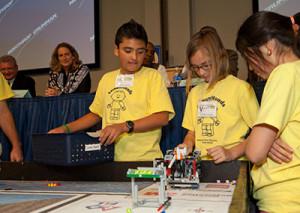 "The ""Lemonheads"" demonstrate robotics."