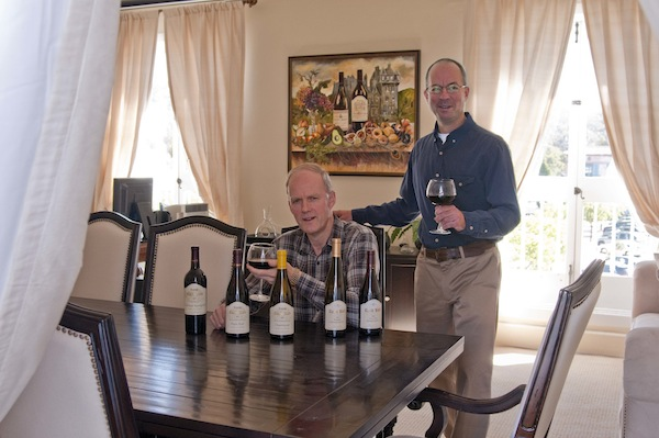 Greg & Chris @ Castle Rock Winery
