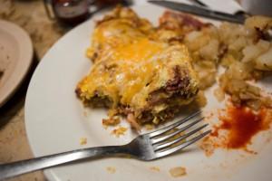 The reuben omlet. Photo by Chelsea Sektnan.