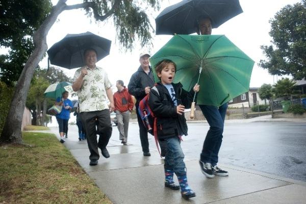 Vitality City walking school bus