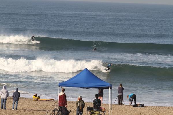 El Porto surfing