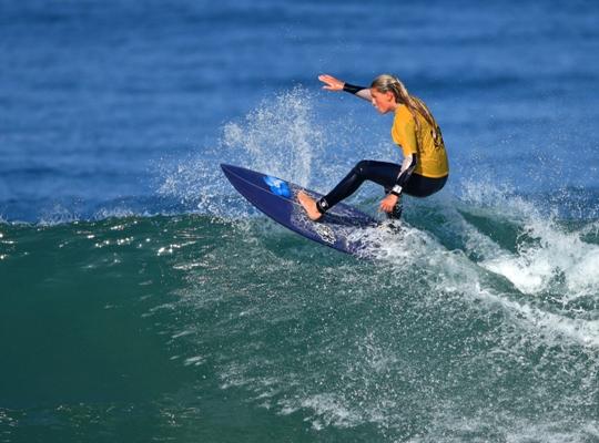 South Bay girls take off surfing
