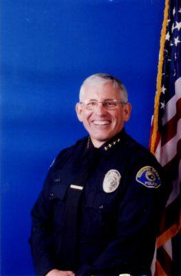 RBPD Chief Joe Leonardi ditched his police car for a bike to catch a suspect on Thursday.