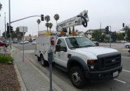 Caifornia Edison responded to the South Redondo power outage quickly. Photo by Chelsea Sektnan