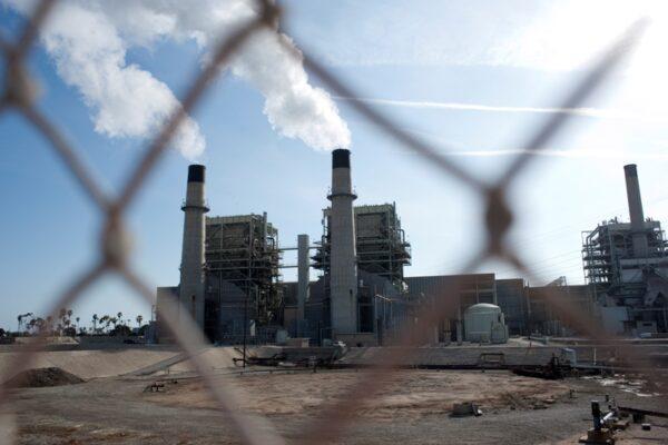 The Redondo Beach AES Power Plant. Photo by Chelsea Sektnan