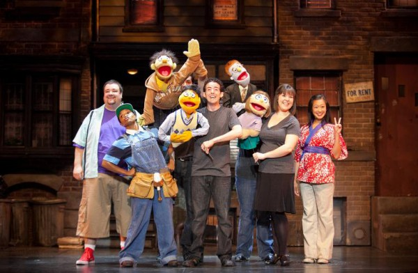 """""""Avenue Q"""" plays this weekend in Redondo. Photo by Isaac James Creative"""