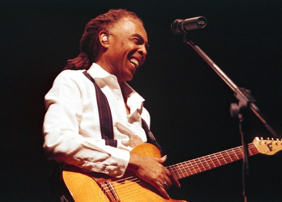 Gilberto Gil makes his debut at Disney Hall Tuesday night.