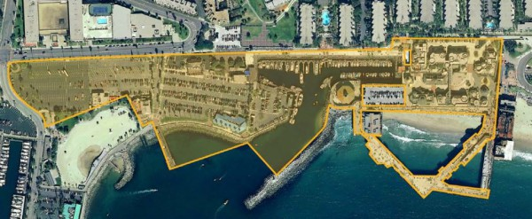 The 15-acre Redondo Beach pier development. Rendering submitted by the City of Redondo Beach