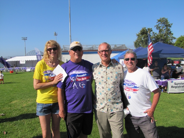 Relay for Life cancer survivors