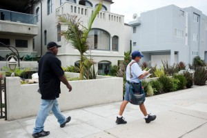 South Bay USPS mail carriers were followed during their normal routes throughout the summer to 'assess' the routes and the carriers. Photo shot in July, 2012 by Chelsea Sektnan