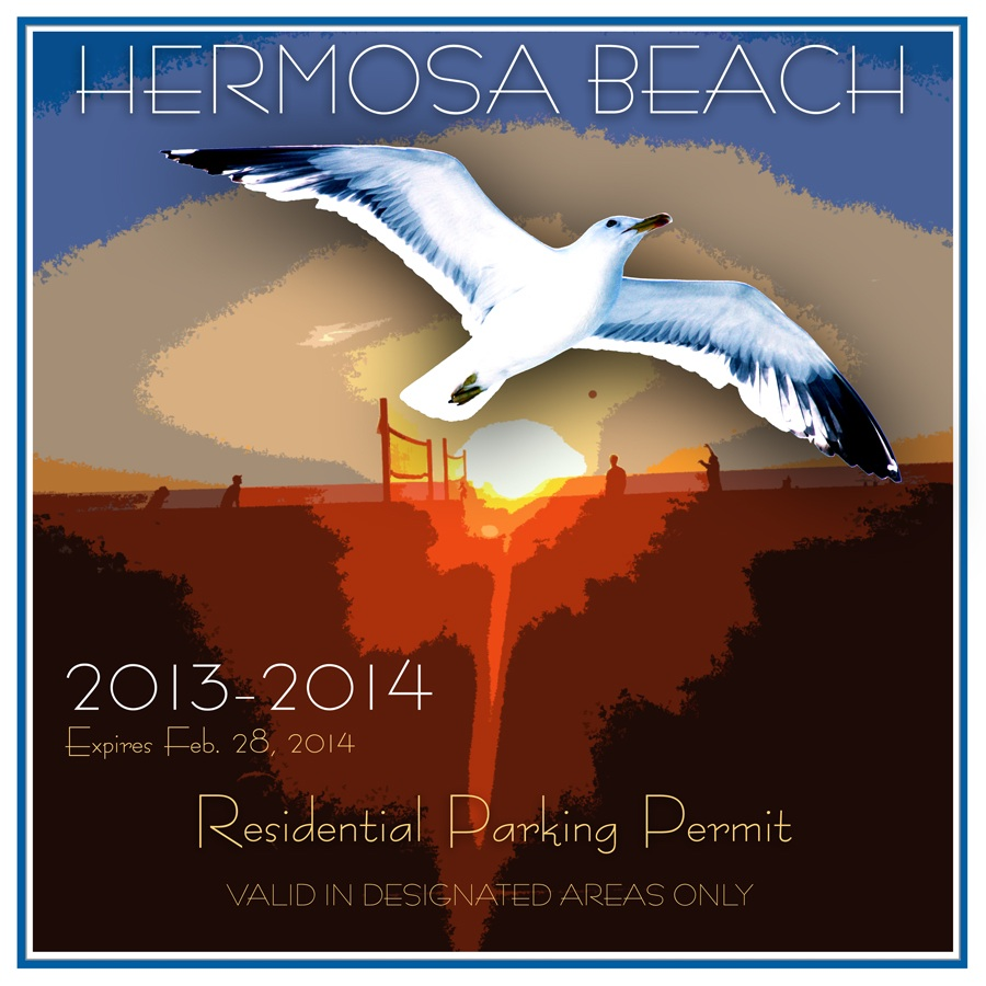 Comedian wins parking permit art contest in Hermosa Beach