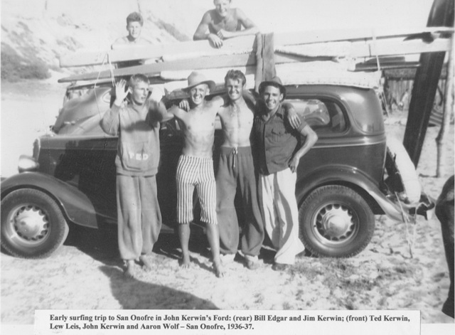 'White Lightning' carries away last of the Hermosa Beach Surfin' Kerwin Brothers.