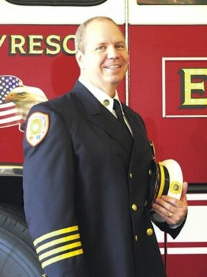 Robert Metzger has been selected to take over from retired Fire Chief Dan Madrigal.