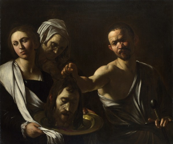 """""""Salome Receives the Head of St. John the Baptist"""" (c.1606-1610), by Michelangelo Merisi da Caravaggio. Photo ©2012 The National Gallery, London"""