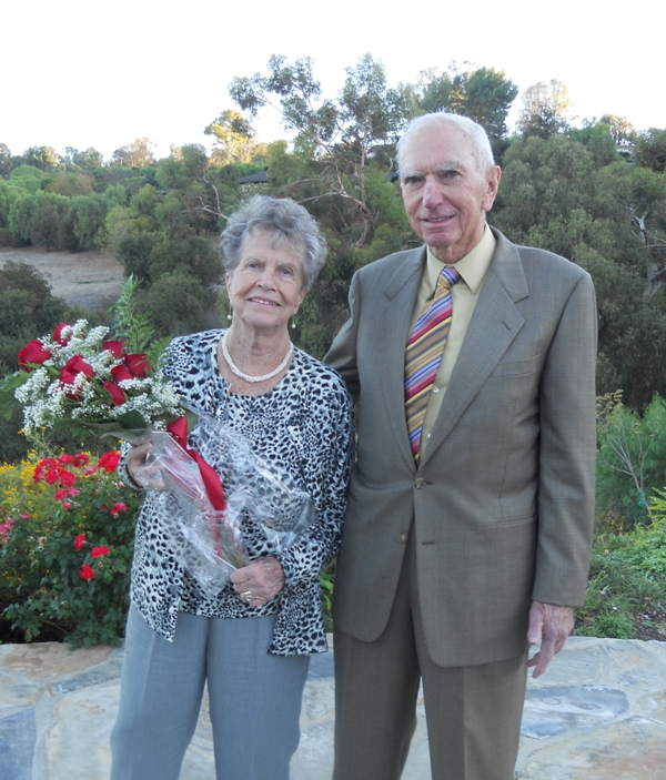 This year's Kenneth T. Norris Key to Our Hearts honorees, Carol and Chuck Drexel. Submitted photo