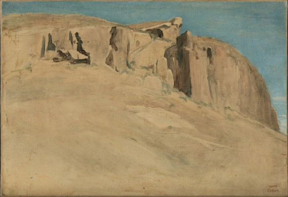 """Civita Castellana,"" by Camille Corot (1826), on display in ""Desire"" at the El Segundo Museum of Art"