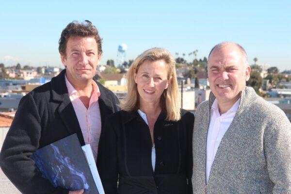 Bernhard Zuenkeler, Eva Sweeney, and Brian Sweeney. Photo by Bondo Wyszpolski.