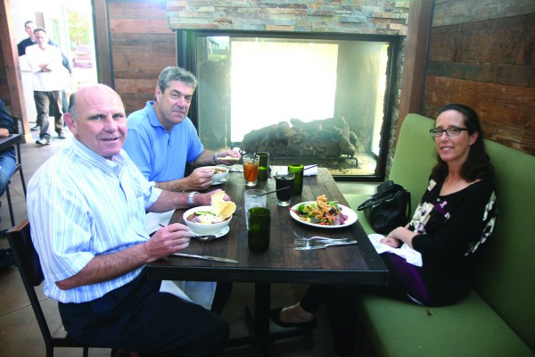 Lunch at Jackson's Food and Drink in El Segundo. Photo by Mark McDermott
