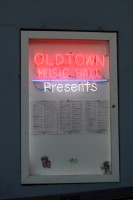 Always a full schedule at the Old Town Music Hall. Photo by Jessica Mendoza