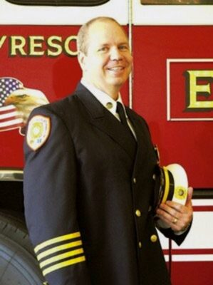 Redondo's new Fire Chief Robert Metzger will see out the remainder of his contract with Golden Gate Fire Control and Rescue. Photo supplied