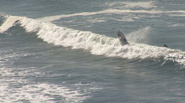 Palos Verdes surf boart crash