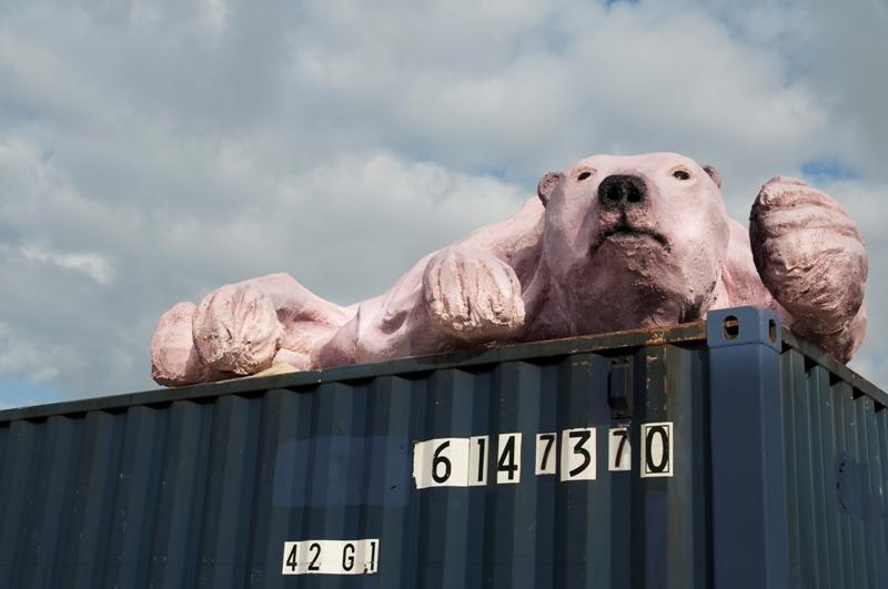 'Anti-Ark' installation art in El Segundo