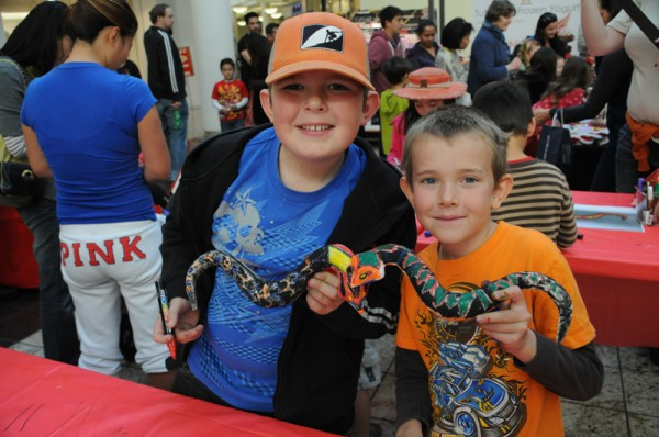 South Bay kids show their prizes in honor of the Year of the Snake. Photo by Diedre Davidson