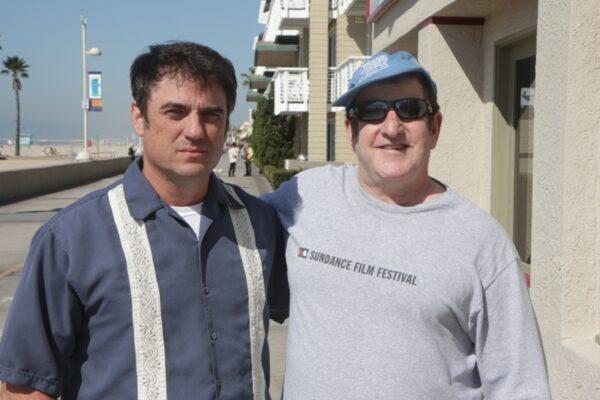 Kirk Harris, left, and Don Franken of Rogue Arts. Photo by Bondo Wyszpolski