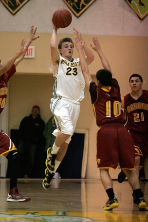 Cole Feaster has helped lead Mira Costa to its first CIF semifinal appearance in 25 years.