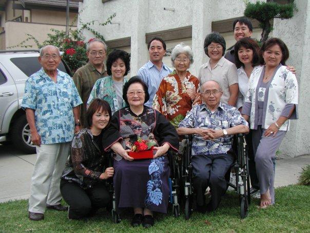 Family photo taken in 2009